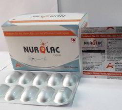 Mecobalamine Folic Acid Vitamin B1 Capsules