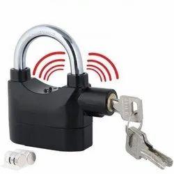 Black Anti Theft Security Pad Lock with Smart Alarm