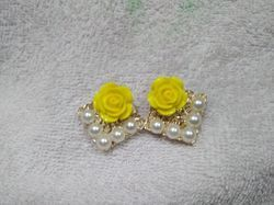 Party, Casual Rose Earrings