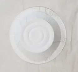 Round Silver Paper Dona, For Event and Party Supplies, Size: 6 Inch
