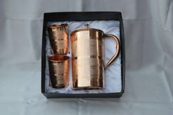 Corporate Copper Jug and Glass Gifts Sets