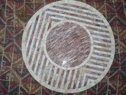 HORN BONE MOSAIC TABLE TOP