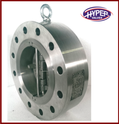 Wafer Lug Type Dual Plate Valve