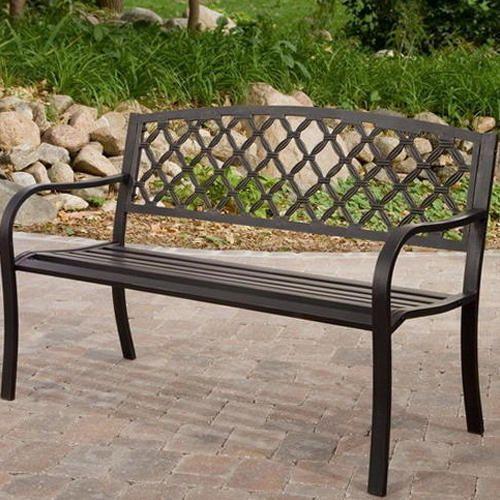 Superieur Wrought Iron Garden Bench