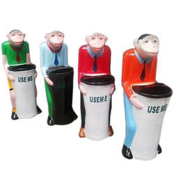 Plastic Monkey Dustbins