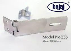 Mild Steel Bajaj 555 Safety Door Hasps, 6 Mm, Size: 40 Mm