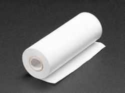 Plain White Sealing Paper Roll for Food Packaging, Size: Multiple