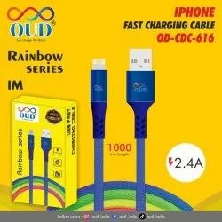 Micro USB Blue OD CDC 616 Iphone Charging Cable