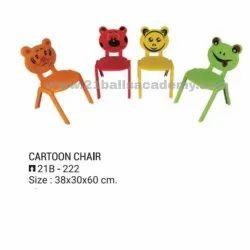 21 Balls Plastic Cartoon Chair