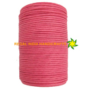 Pink Waxed Cotton Cord