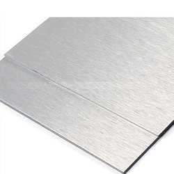 Brush Silver Mirror Faced Aluminum Composite Panel