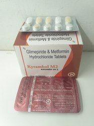Glimepiride & Metformin HCL tablets Kyrambol M2