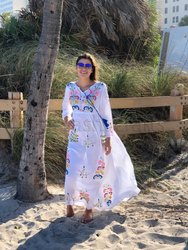 Embroidered Maxi Dresses