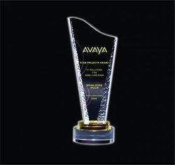 Avaya Crystal Trophy