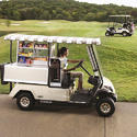 Yamaha Golf Car Refreshment Vehicle