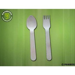 Wooden Disposable Spoon and Fork