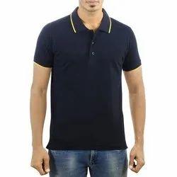 Mens Collar Neck Polo T Shirt