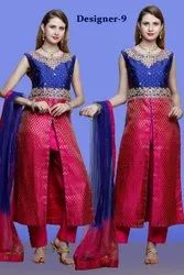 Latest Designer Collection Stonework Ladies Suits