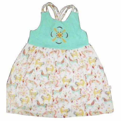 f827bc6976986 Organic Cotton Girls Organic Fancy Baby Dress, Rs 300 /piece | ID ...