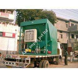 Automatic Mobile Sewage Treatment Plant for Camp Sites