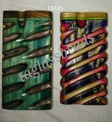 Handicrafts Wooden Smoking Dug Out Pipe