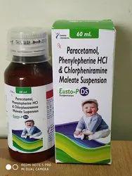 Paracetamol Phenylephrine Hydrochloride And Chlorpheniramine Maleate Suspension