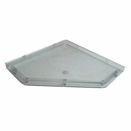 Pvc Bathroom Door Price In Delhi: PVC Corner Shelf Wholesale Trader From Delhi