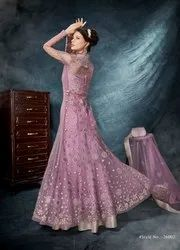 Designer Wedding Wear Heavy Dimond Work Gown