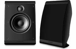 Black Polk Audio OWM3 Surround Speaker Pair 100w, 8 Ohms