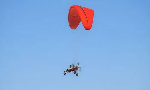 Paramotor Trike with Rotax 582 Engine & Wing