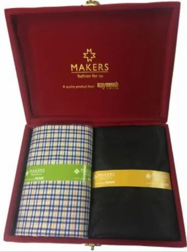 e3d4dcd2f Raymond Makers Unstitched Fabric For Shirt   Trouser In Velvet Box ...