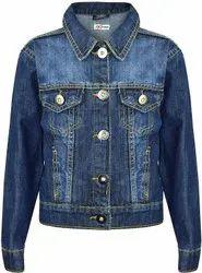 Ladies Denim Jeans Jacket