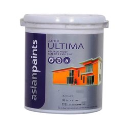 Asian Paints High Gloss Apex ULTIMA Weather Proof Exterior Emulsion Paint, Packaging Type: Bucket, Packaging Size: 20 Ltr