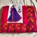 Party Wear Ladies Designer Embroidered Saree, With Blouse Piece, 5.5 M (separate Blouse Piece)