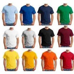 Half Sleeve UNISEX Round Neck T-shirt, Quantity Per Pack: 10