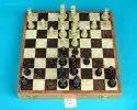 Black Soapstone Chess Board