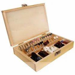 wooden precision tool box
