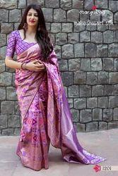 Manjubaa  Maheshwari Silk Sarees