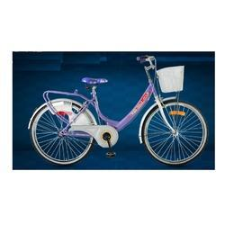 Hero Purple and Pink miss india gold 24t cycle, Size: 24T