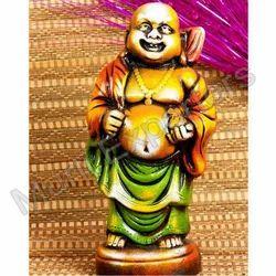 Clay Laughing Buddha