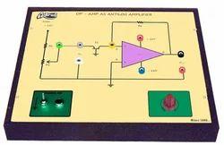 Op - Amp as Anti - Log Amplifier Trainer