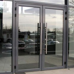 Glass Door for Office, Thickness: 10-12 mm