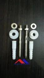 SS Wash Basin Rack Bolt for Sanitary Fitting
