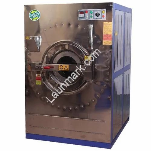 Front Load Industrial Washing Machine 300 Kg  Steam
