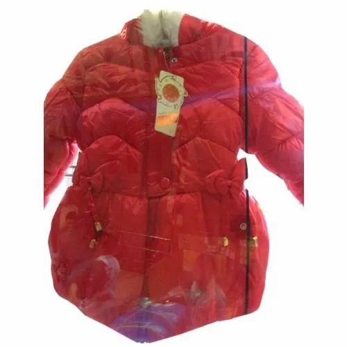 Plain Casual Wear Kids Fancy Jacket, Size: S-XL