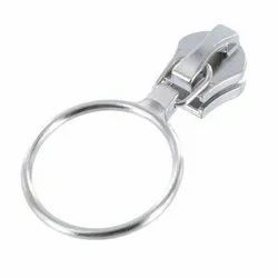 Nickel Coated Zipper Pull Slider