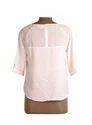 Ladies Solid 3/4 Sleeve Top