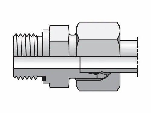 EO/EO-2 Male Connector, Male Stud Coupling, BSPP Thread Metal Seal GE-R-ED / GEO / GE-M-ED,