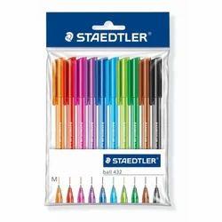 Plastic Staedtler Ball Pen, Packaging Type: Pp Packet