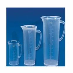 MEI Pp Pastic Measuring Jugs, for Chemical Laboratory